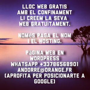 Creació i gestió de continguts • Màrqueting per a Internet Gestió de Xarxes Socials webs i botigues en línia en Andorra